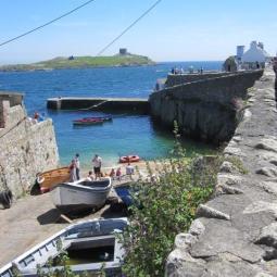 Shore of Dalkey, Ireland, June 2013