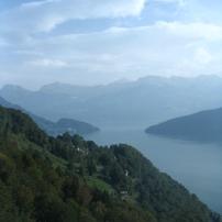 view from The Rigi, Switzerland