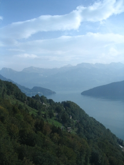 view from The Rigi, Switzerland
