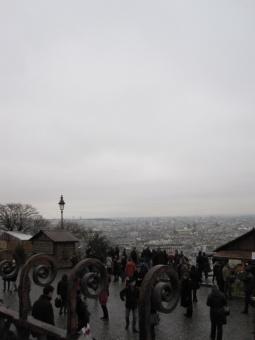 View from Sacré-Cœur Basilica, Paris