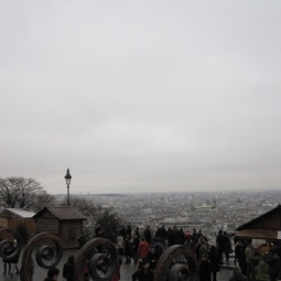 View from Sacré-Cœur Basilica, Paris